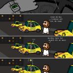 Episodul 242: Mîţa practică taximetria