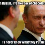 Putin pentru Nobel: o ştire veche de când hău şi, de fapt, nu foarte interesantă