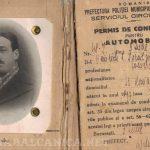 I-am luat permisul lui Nicu Israilovici, şofer interbelic. Ce am învăţat