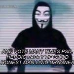 Încă un mesaj video al temuţilor hackeri ANONYMOUS care SCHIMBĂ TOTUL