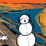 26 de oameni de zăpadă pe care îi poţi face iarna asta